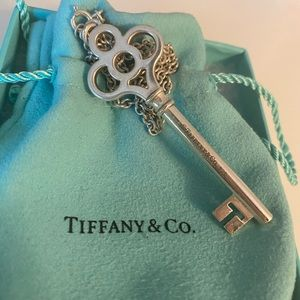 Authentic Tiffany & Co Large Sterling Silver Key
